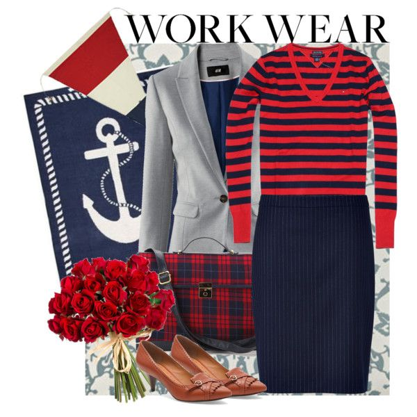 A fashion look from November 2016 by style-sue featuring Tommy Hilfiger, H&M, HUGO, Brooks Brothers and Cooperative