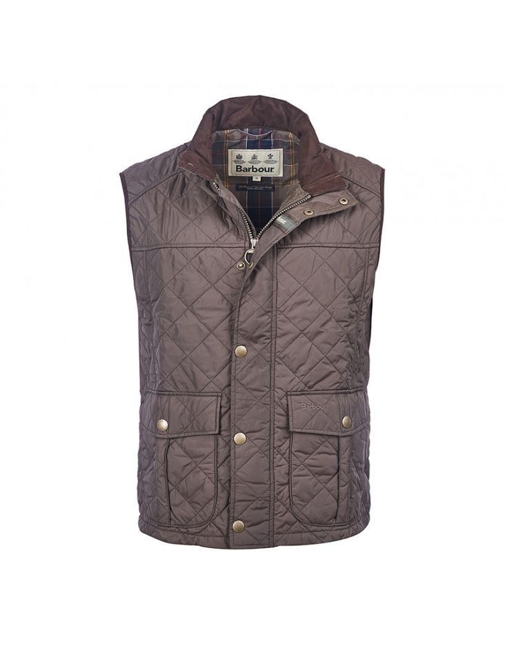 Barbour Men's Explorer Quilted Gilet - Dark Olive