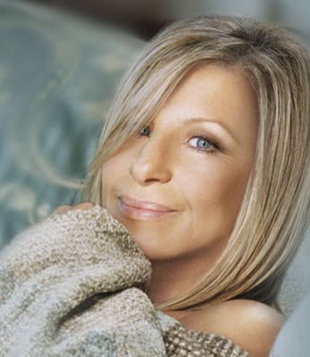 Barbra Streisand, one of my favorite pictures of her ever.  Shows the softer side of the legend.