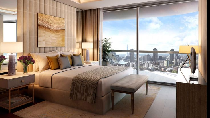 29 best images about bedrooms on pinterest french for Luxury residential interior designers london