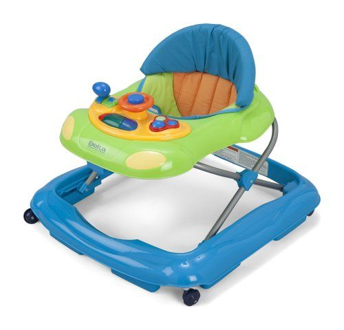 #manythings Boost walking confidence and help stimulate baby's early development with #Delta Children's Lil' Fun #Walker. Outfitted with a quick release toy tray ...