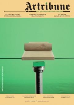 Cover di Daniele Veronesi, intervistato da Daniele Perra nella rubrica Talenti. E poi Documenta dalla A alla Z, un'ampia intervista a Paolo Baratta e la quinta puntata del nostro reportage sui Balcani…
