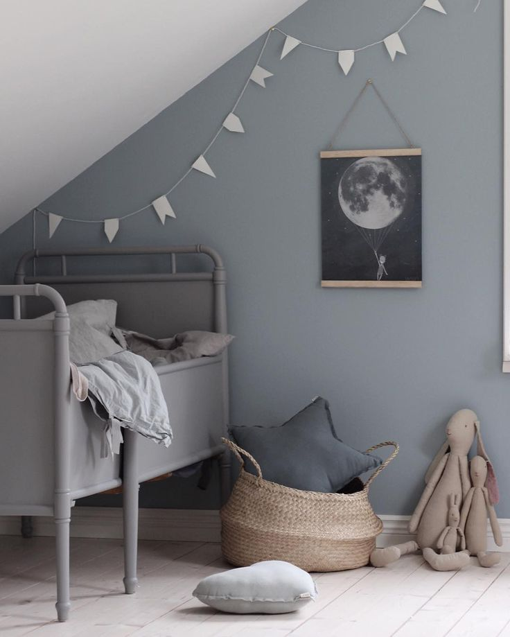 Love this grey for the boys room