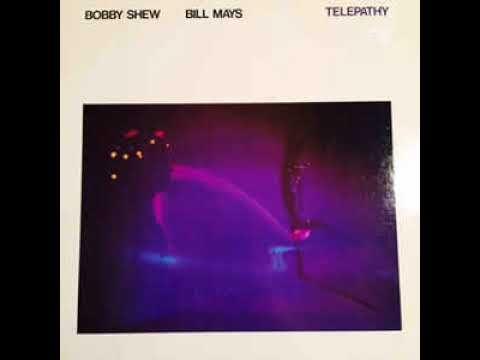 Vinyl LP - Bobby Shew & Bill Mays - Telepathy (Duo Album) 1982 American Jazz