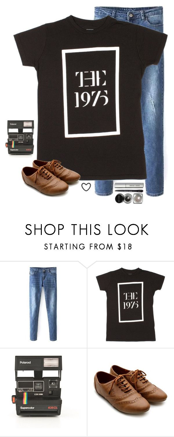 """The two hour delay life!"" by avamariebrown ❤ liked on Polyvore featuring Polaroid, Ollio, Bobbi Brown Cosmetics, women's clothing, women, female, woman, misses and juniors"