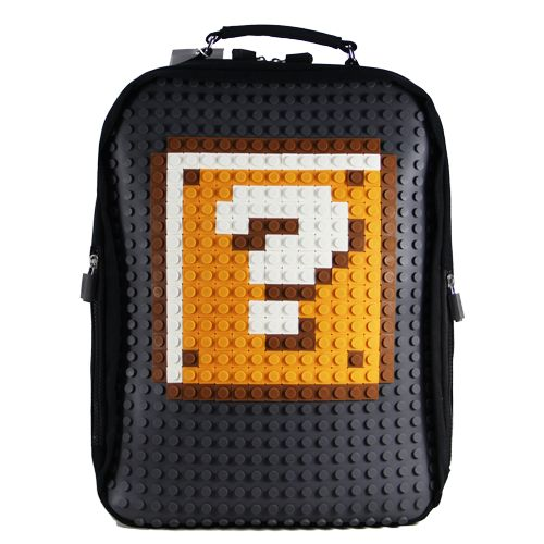 #A001 #UanyiEurope #CreativePixelBackpack  #Backpacks  #Qmark #DIY
