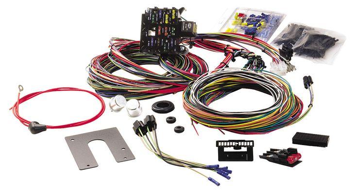 Wiring    Harness  21Circuit Classic  Non   GM   Keyed Dash