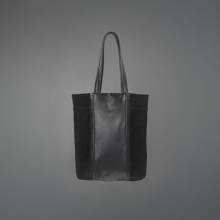 Laurie Suede Bag - recycled leather http://ervinlatimer.com/product/laurie-suede-bag