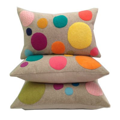 Dots cushion by Fable Folks - for inspiration only