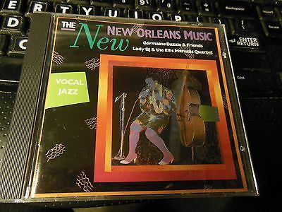 The New New Orleans Music: Vocal Jazz CD by Germaine Bazzle/Lady B.J. & Ellis Ma