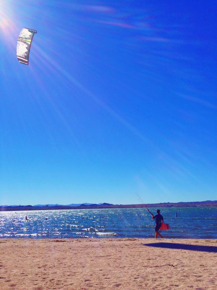 Kite Surfing, Lake Havasu