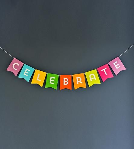 Celebrate Banner by Liddabits on Scoutmob Shoppe