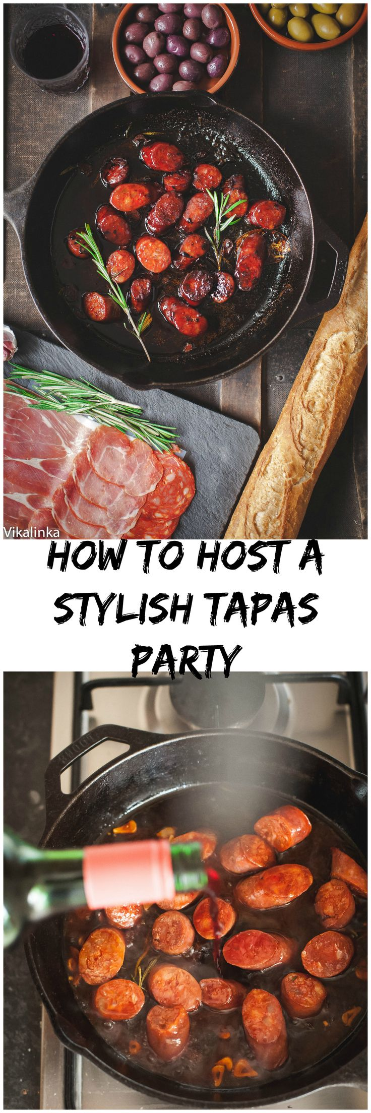 My FAVORITE Recipes: How to Throw a Wine and Tapas Party - Vikalinka