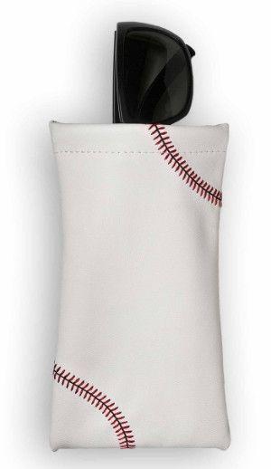 Zumer Sport Baseball Sunglass Pouch Made From Real Baseball Material #zumersport #baseballsunglasspouch #baseball #sunglasspouch #sunglasscover #sunglasscase