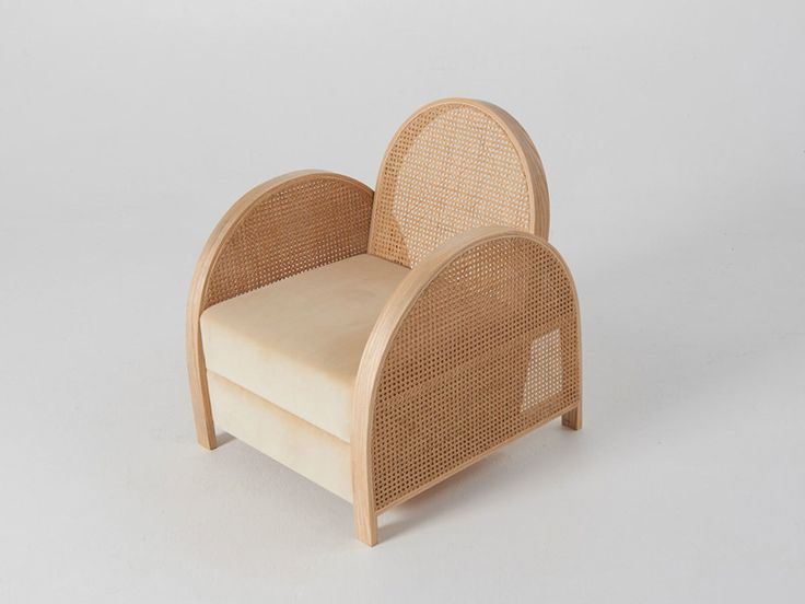 Arch chair | Douglas and Bec | rattan design | rattan furniture | rattan experimentation | rattan design furniture | rattan material | brand new chair | chair 2017 | rattan chair 2017 | wooden chair | wooden furniture | autralian design | design chair | design furniture | living chair | lobby armchair | wood furniture | wood chair | bois | chaise bois | chaise rotin