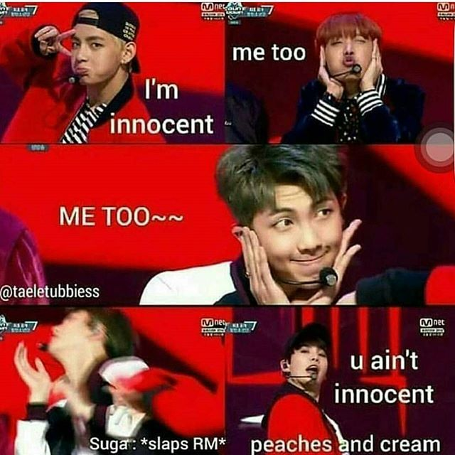 RAP MONSTER!!! INNOCENT MY ASSSSSSS!!!! ❤ #BTS #방탄소년단