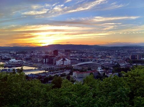 Oslo, Norway  Sted: Utsikt mot Gamlebyen og sentrum  Foto: Aina Rølland