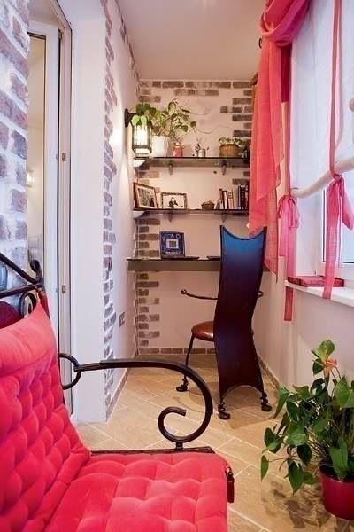 Красивые идеи для балкона - Дизайн интерьеров   Идеи вашего дома   Lodgers