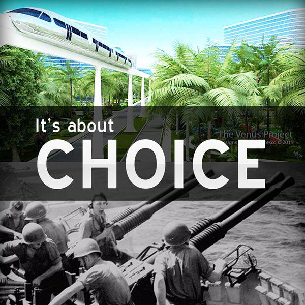 It's about CHOICE! by Lukáš Zeman, via Behance