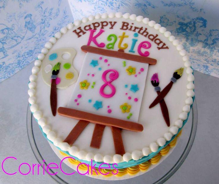 Art Easel Cake Topper : 37 best Art cakes images on Pinterest Art cakes, Art ...