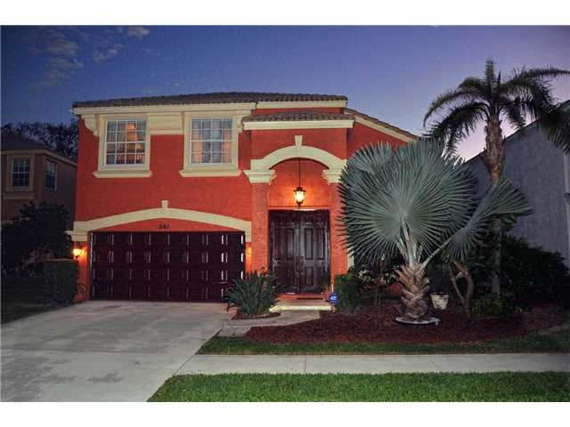 261 SARATOGA BLVD EAST  Royal Palm Beach FL 33411  $329,000   Beds 3 Baths 3F/ 0H  Impeccable and completely renovated Madison Green home;Quoizel lighting; 20X20 porcelain tile floors; marble steps; custom maple cabinets; faux finish walls; black iron ballisters with oak railings;crown moldings; granite countertops; outdoor BBQ This Gorgeous home is in showroom condition as seen in all the photos. Pictures don't lie...Incredible Madison Green community with resort style amenities.
