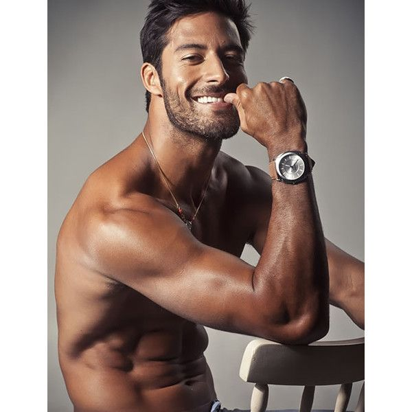 Beto Malfacini | Shirtless | Male Model | Brazilian | Revsita Junior |... ❤ liked on Polyvore featuring men