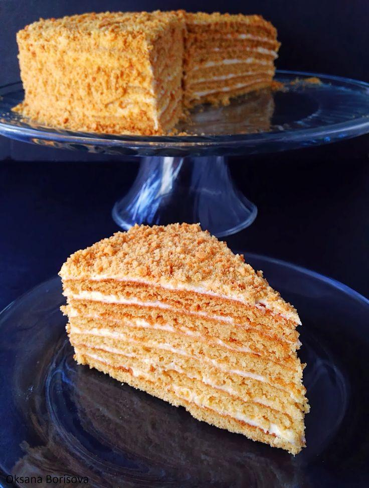 "Кулинарные моменты: Торт ""Медовик"""