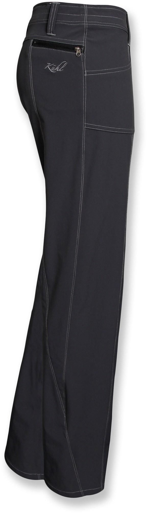 At REI Outlet: Women's Kuhl Vala Pants — good looks and stretch make these great for active endeavors like hiking.