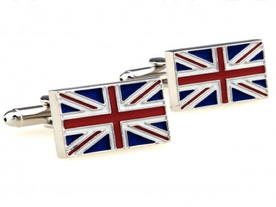 Union Jack Cufflinks.  Perfect To Wear To Remember The Queens Jubilee Or To Support Olympic Team GB.  Batman / Dark Knight Emblem Shaped Cufflinks.  Available from www.cufflinkswarehouse.com/category/fun-cufflinks