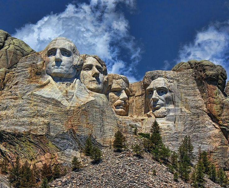 Monte Rushmore -  Estado de Dakota do Sul - EUA