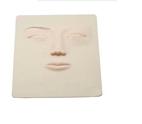 10PCS 3D Silica Gel Tattoo Practice Skin permanent makeup eyebrow lips training skin Permanent Makeup  Eyeliner Practice Skin