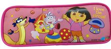 Dora the Explorer Plastic Pencil Case Pencil Box - Pink - Circus Tent