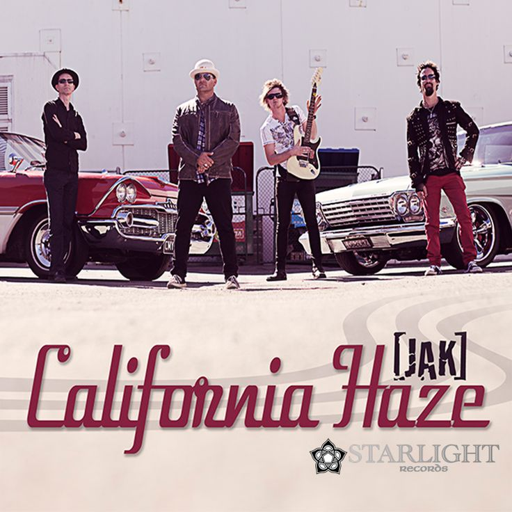 California Haze is the first single from upcoming album - Machine In Me - from JAK