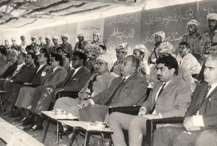 بارزانی: General Mustafa, Mustafa Barzani, Gener Mustafa