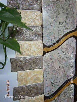 Из яичных лотков. Декоративные КАМНИ для отделки стен (3) (308x410, 166Kb)