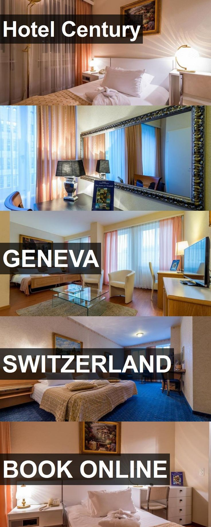 Hotel Century in Geneva, Switzerland. For more information, photos, reviews and best prices please follow the link. #Switzerland #Geneva #travel #vacation #hotel