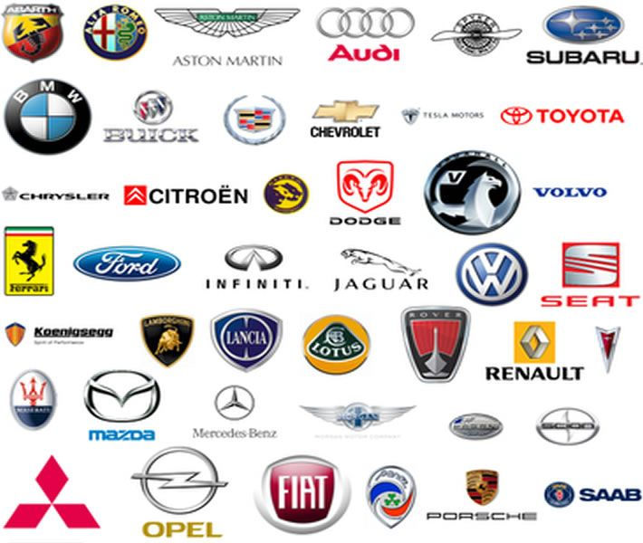 Red Automotive Logos Cars industrial, cars logo