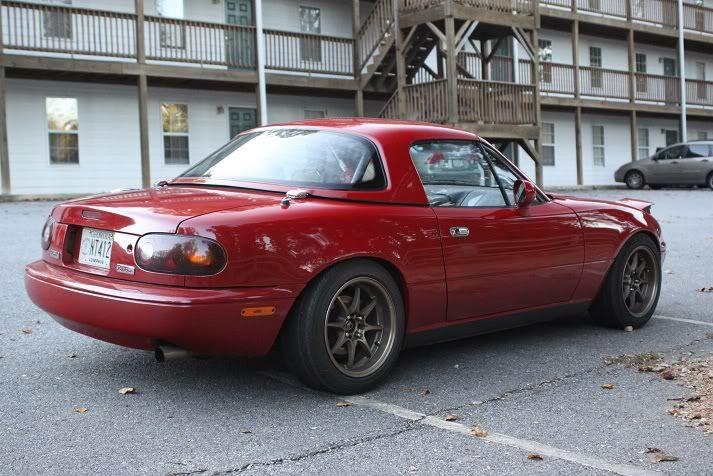 Na+Miata | Thread: 1990-98 NA Miata HARDTOP 10/10 condition / roof liner / rear ...