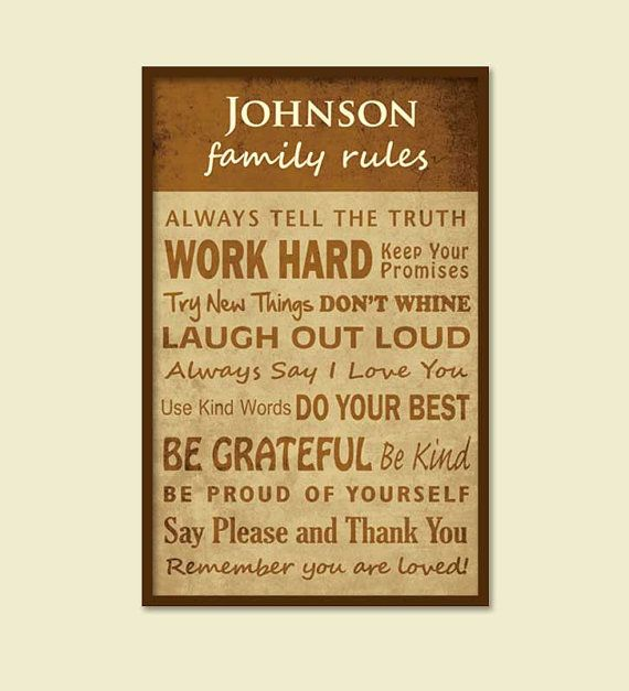 12 best subway artfamily rules prints images on pinterest family personalized family rulesdistressed subway artfamily name two color 12 x 16 solutioingenieria Image collections
