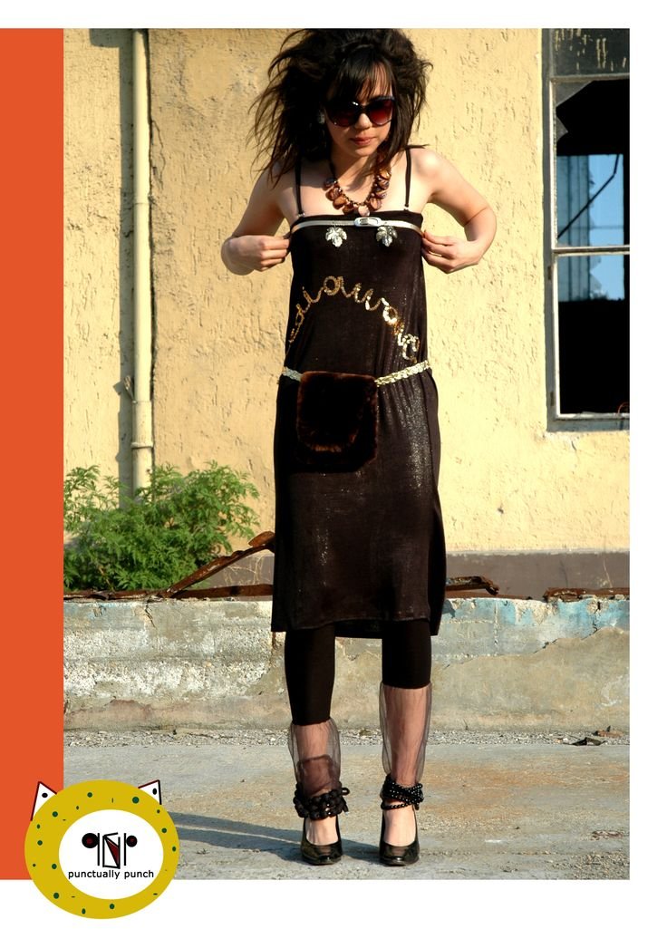 FANCY DRESS WITH FLUFFY POUCH /MW COLLECTION/