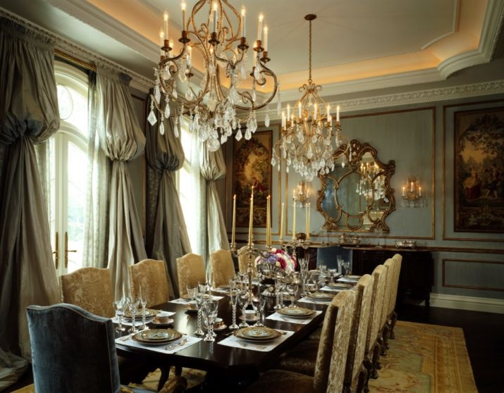 Le Grand Reve Of Winnetka Il Dining Room Find This Pin And More On Formal Window Treatments