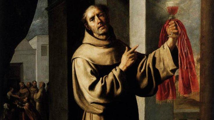 Un détail d'une toile de Francisco de Zurbarán représentant Saint Jacques de la Marche.[CC]