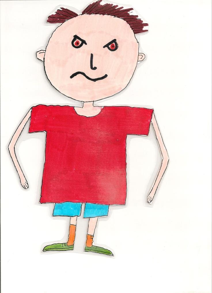 Mr Angry - feelings dolls  Θύμιος ο θυμωμένος