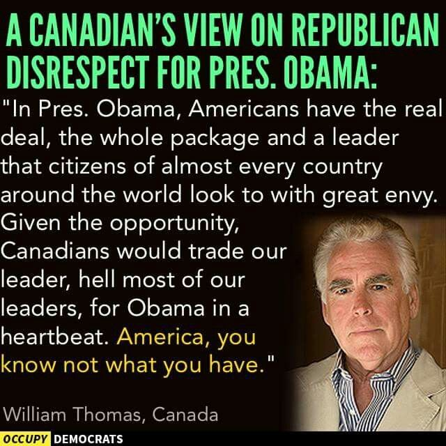 "How The 'World Views Our President'... ""AMERICA, YOU KNOW NOT WHAT YOU HAVE."" ~ William Thomas ~"
