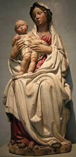 Jacopo della Quercia madonna della melagrana, 1403-1406