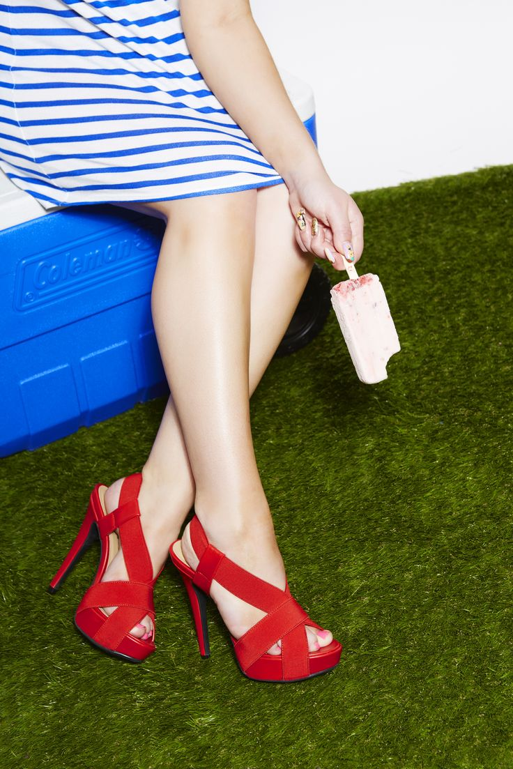 Jacinda is the perfect 4th of July pick me up. Rock them at your next BBQ! #ShoeDazzle #July4th