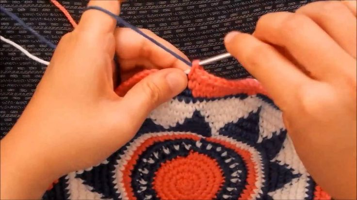 How to Crochet a Wayuu-Style Base - Part 4