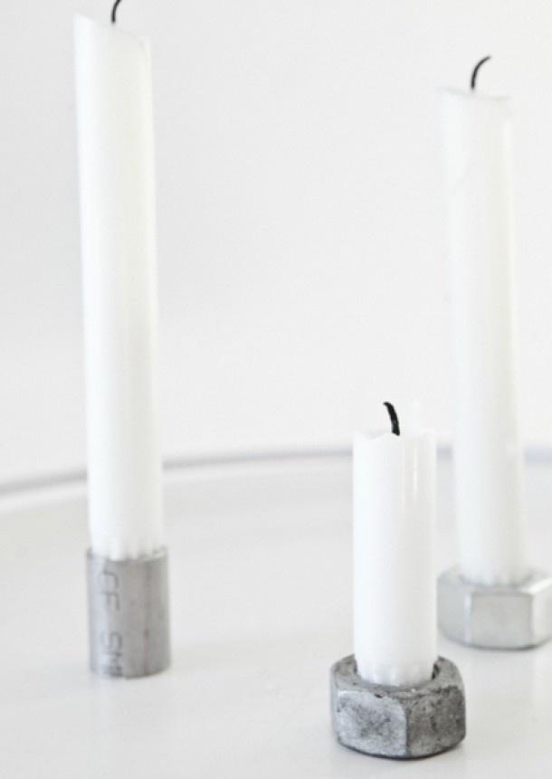 Hoezo creatief: superleuke en goedkope kaarsenhouders, even naar... Door amyvvugt