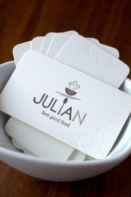 Julian business card.