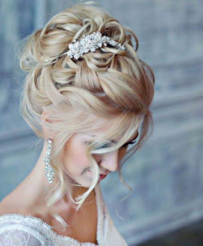 ▷ 1001+ Ideen und Inspirationen für silvolle und moderne Hochzeitsfrisuren
